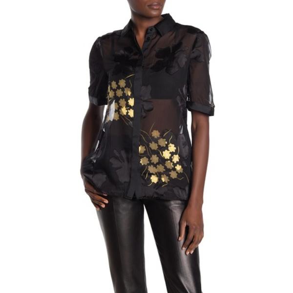 レイス レディース シャツ トップス Giuliana Floral Burnout Shirt MULTI