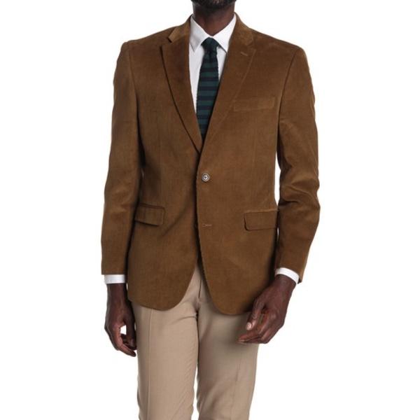 Lapel Coat Two Khaki ジャケット&ブルゾン トミー ヒルフィガー Corduroy アウター Sport メンズ Notch Button KHAKI