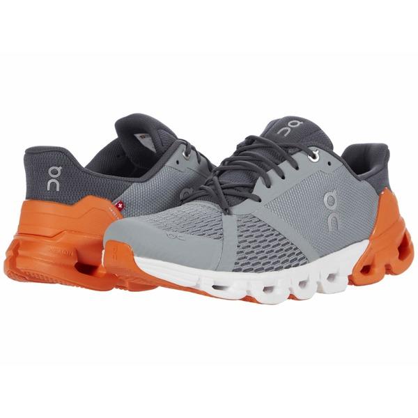 オン メンズ シューズ スニーカー 春の新作続々 Orange 全商品無料サイズ交換 格安激安 Grey Cloudflyer