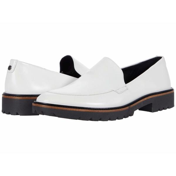 エコー レディース スリッポン・ローファー シューズ Incise Tailored Loafer Bright White