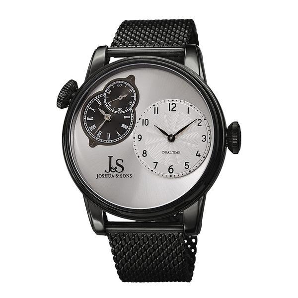 【保存版】 ジョシュアアンドサンズ メンズ 腕時計 アクセサリー Joshua & Sons Men's Stainless Steel Mesh Watch -, テンリュウシ 9020803b