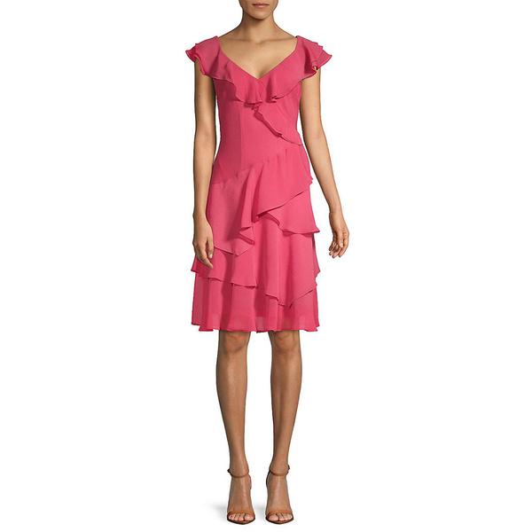 【在庫あり】 ダナ キャラン ニューヨーク レディース ワンピース トップス Donna Karan A-Line Dress rose, ナミノソン cb8c615e