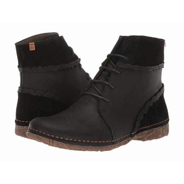 エルナチュラリスタ レディース ブーツ&レインブーツ シューズ Angkor N5463 Black