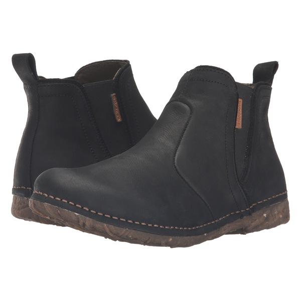 エルナチュラリスタ レディース ブーツ&レインブーツ シューズ Angkor N959 Black