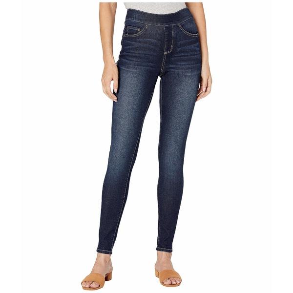 ジャグジーンズ レディース デニムパンツ ボトムス Maya Skinny Pull-On Jeans in Deluxe Denim Baltic Blue