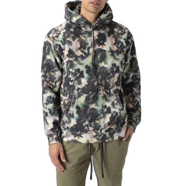 ゼインローブ メンズ シャツ トップス Foliage Hooded Sweatshirt Green