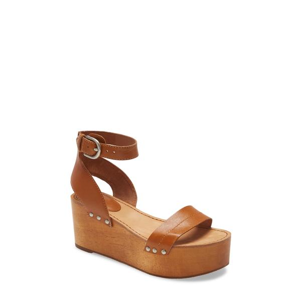 フライ レディース サンダル シューズ Alva Platform Sandal Tobacco Leather