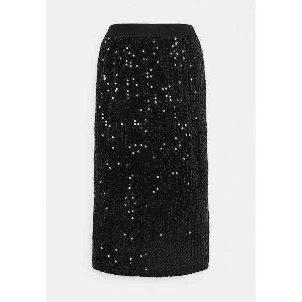 カフェ 割引 レディース ボトムス スカート black 市場 全商品無料サイズ交換 COLENE Pencil SKIRT fzki014c - skirt