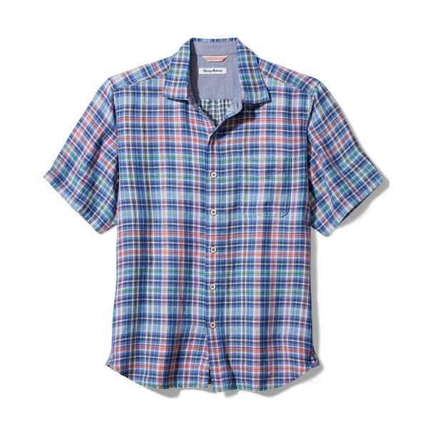 トッミーバハマ メンズ トップス 低価格化 シャツ Old Royal Men's 永遠の定番 Plaid Shirt Bay 全商品無料サイズ交換 Tiamo