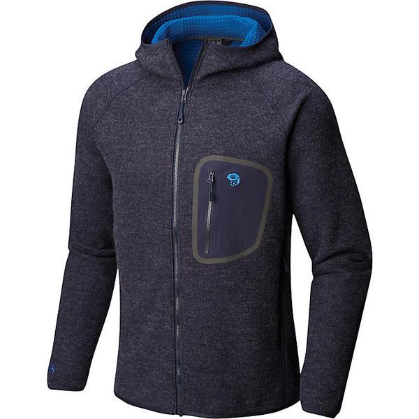 マウンテンハードウェア メンズ ジャケット&ブルゾン アウター Mountain Hardwear Men's Hatcher Full Zip Hoody Dark Zinc