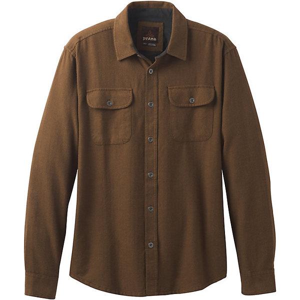 プラーナ メンズ シャツ トップス Prana Men's Lybeck LS Shirt Sepia