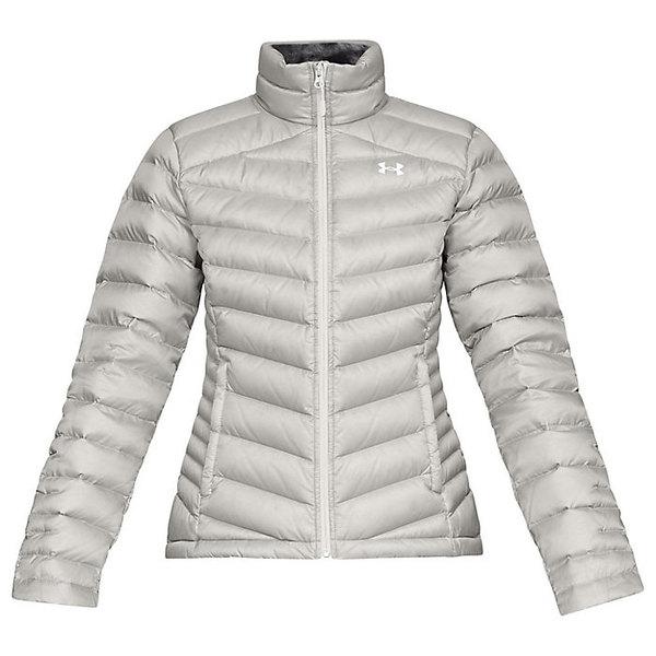 アンダーアーマー レディース ジャケット&ブルゾン アウター Under Armour Women's Iso Down Sweater Ghost Gray / Charcoal / White