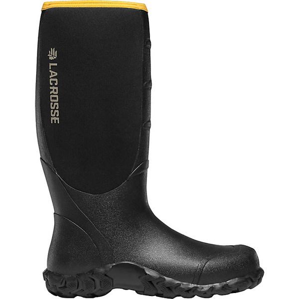 ラクロス メンズ スポーツ ハイキング Black 全商品無料サイズ交換 休み Lacrosse 5mm Lite Boot Neoprene Men's 16IN 正規取扱店 Alpha