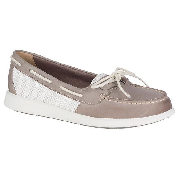 スペリー レディース スニーカー シューズ Sperry Women's Oasis Loft Boat Shoe Grey Weave