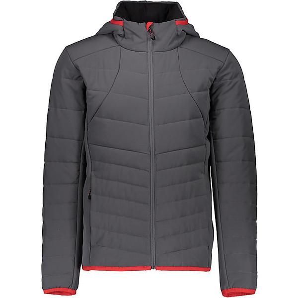 オバマイヤー メンズ ジャケット&ブルゾン アウター Obermeyer Men's Mechano Stretch Insulator Jacket Grey Matter