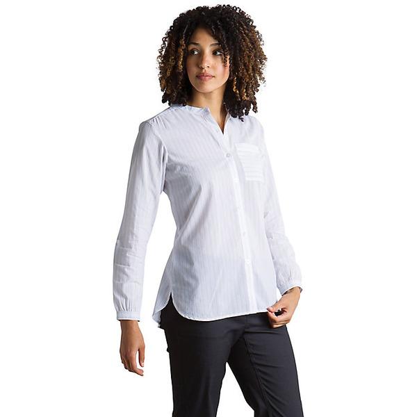 エクスオフィシオ レディース シャツ トップス ExOfficio Women's Lencia LS Shirt White
