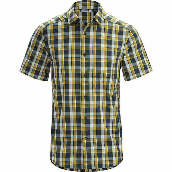 アークテリクス メンズ シャツ トップス Arcteryx Men's Brohm SS Shirt Orions Belt