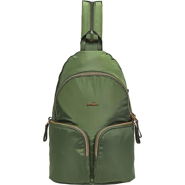 パックセーフ レディース ボストンバッグ バッグ Pacsafe Women's Stylesafe Sling Backpack Kombu Green