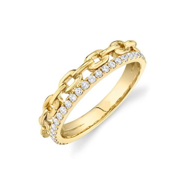100%本物保証! ロンハミ レディース & YELLOW リング アクセサリー 14K Yellow Gold Diamond Yellow & Chain Band Ring - 0.25 ctw YELLOW GOLD/DIAMOND, イソゴク:c08de3a9 --- inglin-transporte.ch
