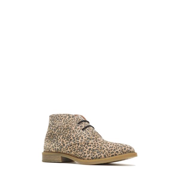 ハッシュパピー レディース シューズ ブーツ&レインブーツ Leopard Print Suede 全商品無料サイズ交換 ハッシュパピー レディース ブーツ&レインブーツ シューズ Bailey Water Resistant Chukka Boot Leopard Print Suede