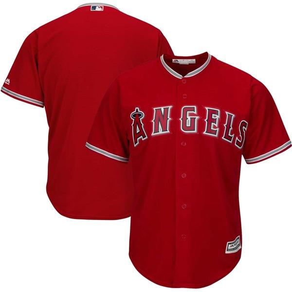 マジェスティック メンズ ユニフォーム トップス Los Angeles Angels Majestic Official Cool Base Jersey White