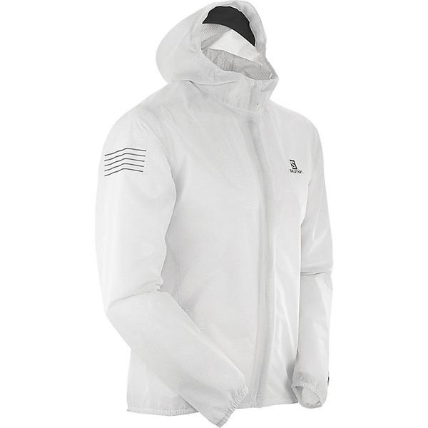 サロモン メンズ ジャケット&ブルゾン アウター Salomon Men's Bonatti Race Waterproof Jacket White