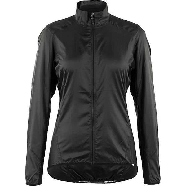 スゴイ レディース ジャケット&ブルゾン アウター Sugoi Women's Stash Jacket Black