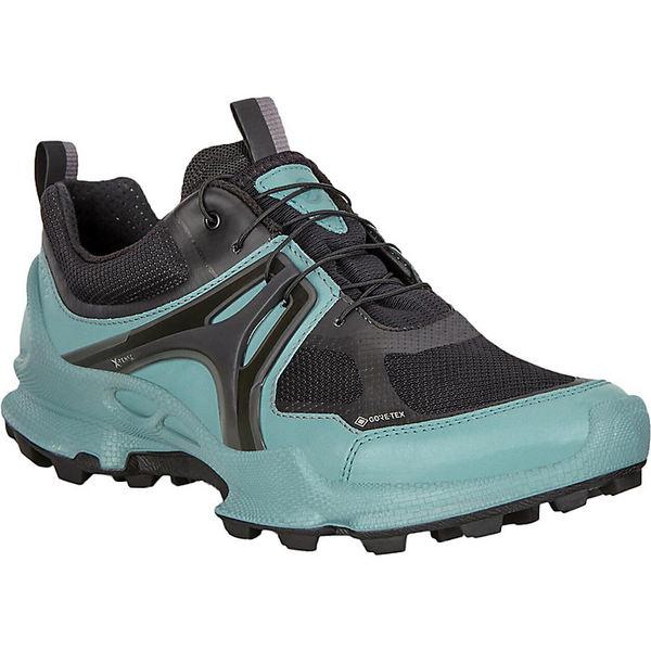 エコー レディース ランニング スポーツ Ecco Women's Biom C-Trail GTX Shoe Trellis/Black