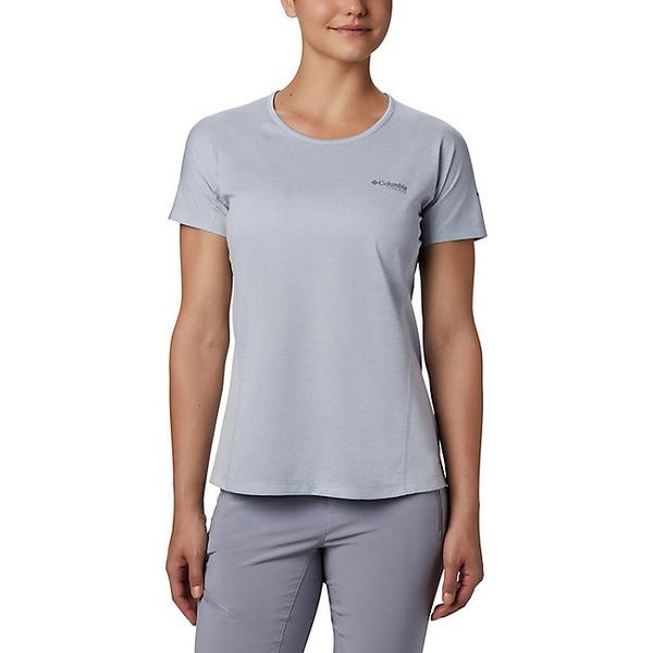 コロンビア レディース シャツ トップス Columbia Women's Irico Knit SS Shirt Cirrus Grey