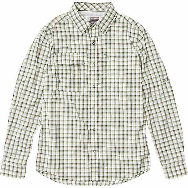 エクスオフィシオ メンズ シャツ トップス ExOfficio Men's BugsAway Halo LS Shirt Nori