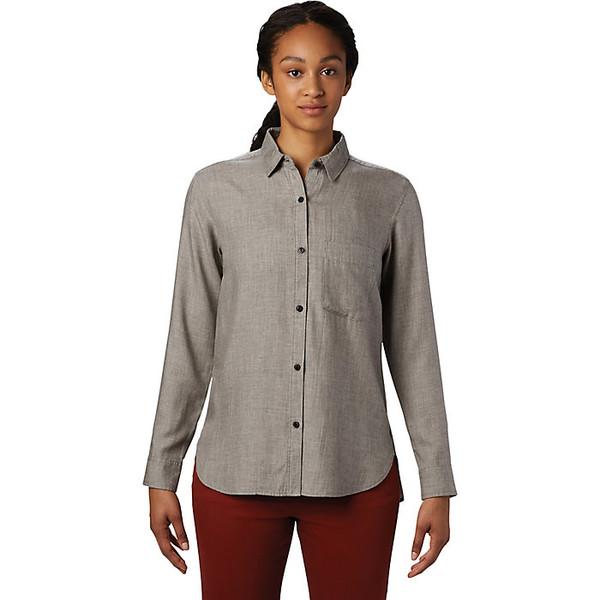 マウンテンハードウェア レディース シャツ トップス Mountain Hardwear Women's Willow Spring LS Shirt Manta Grey