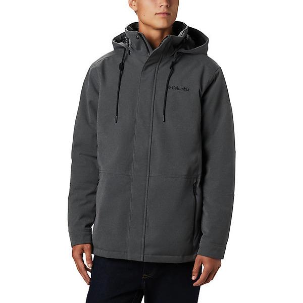 コロンビア メンズ ジャケット&ブルゾン アウター Columbia Men's Boundary Bay Hybrid Jacket City Grey Heather