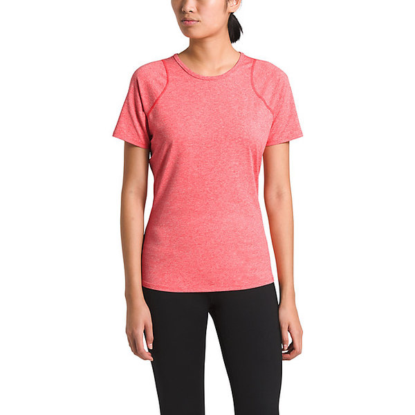 ノースフェイス レディース シャツ トップス The North Face Women's Essential SS Top Cayenne Red Heather