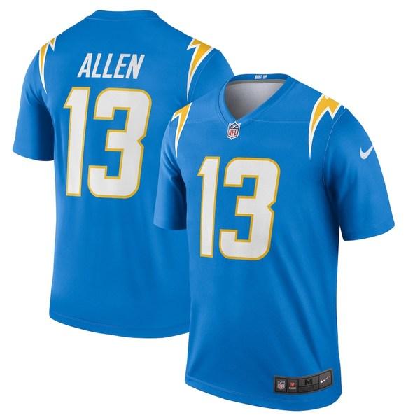 ナイキ メンズ シャツ トップス Keenan Allen Los Angeles Chargers Nike Legend Jersey Powder Blue