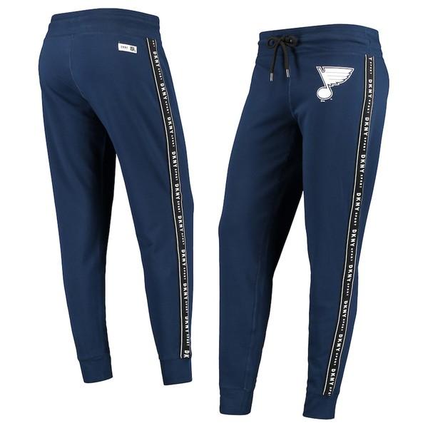 ダナキャラン レディース カジュアルパンツ ボトムス St. Louis Blues DKNY Sport Women's Brooke Jogger Pants Navy