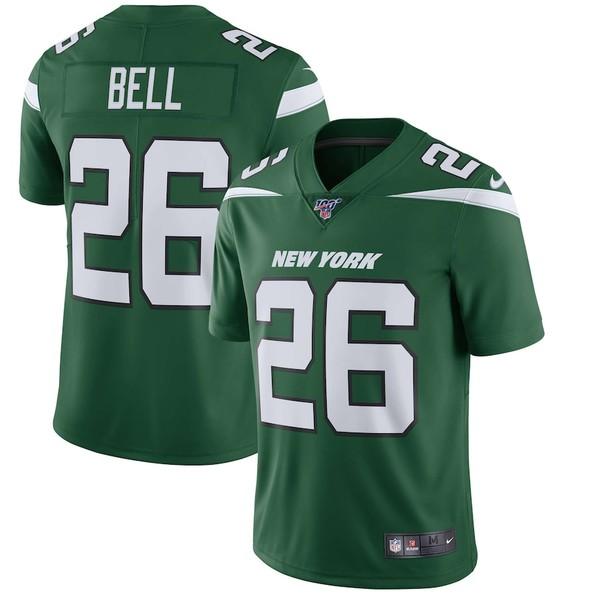 ナイキ メンズ シャツ トップス Le'Veon Bell New York Jets Nike NFL 100 Vapor Limited Jersey Green