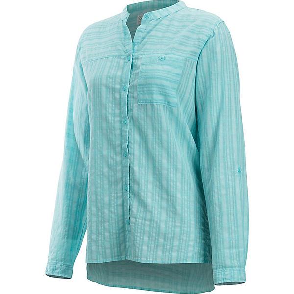 エクスオフィシオ レディース シャツ トップス ExOfficio Women's BugsAway Collette LS Shirt Mystic Blue