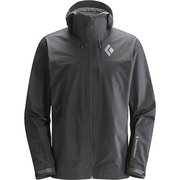 ブラックダイヤモンド メンズ ジャケット&ブルゾン アウター Black Diamond Men's Liquid Point Shell Jacket Black