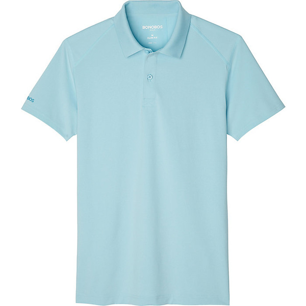 ボノボス メンズ シャツ トップス Bonobos Men's M-Flex Flatiron Polo Heathered Sea Angel