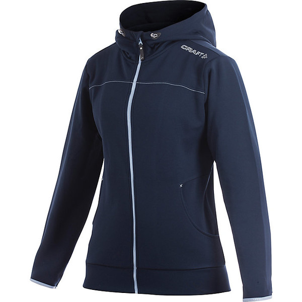 クラフトスポーツウェア レディース ジャケット&ブルゾン アウター Craft Women's Leisure Full Zip Hood Jacket Dark Navy