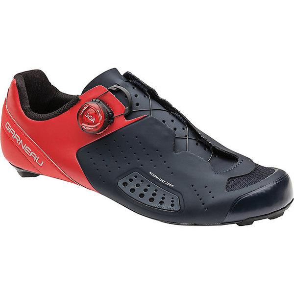 イルスガーナー メンズ サイクリング スポーツ Louis Garneau Men's Carbon LS-100 III Shoe Red / Navy