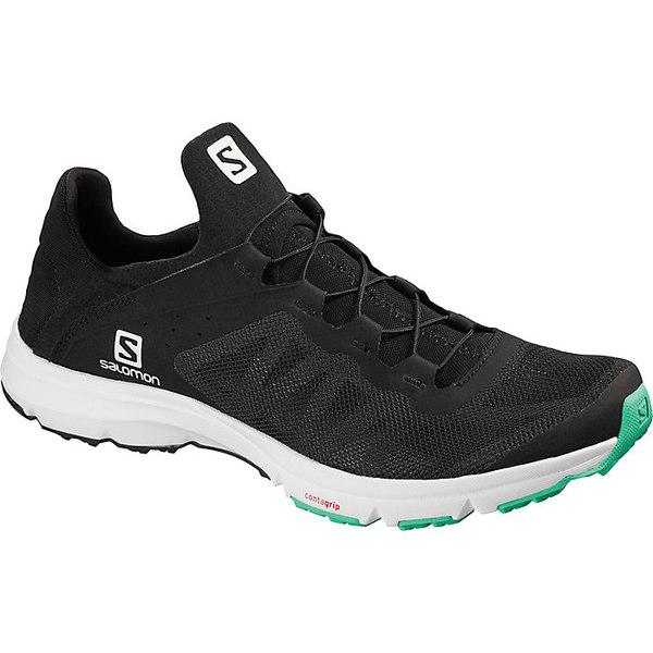 サロモン レディース ブーツ&レインブーツ シューズ Salomon Women's Amphib Bold Shoe Black / White / Electric Green