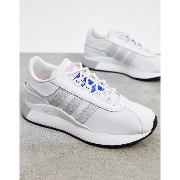 アディダスオリジナルス レディース スニーカー シューズ adidas Originals SL Andridge sneakers in triple white White