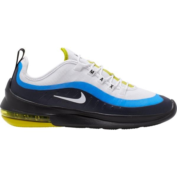 ナイキ メンズ スニーカー シューズ Nike Men's Air Max Axis Shoes Wht/Wht/HypBlue/Blk