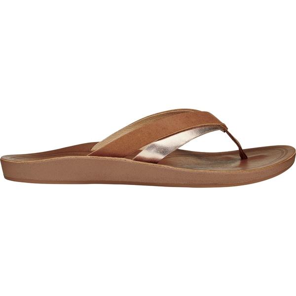 オルカイ レディース サンダル シューズ OluKai Women's KaeKae Sandals Sahara/Bubbly