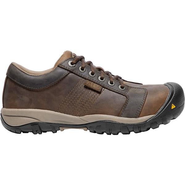 キーン メンズ ブーツ&レインブーツ シューズ KEEN Men's LA Conner ESD Aluminum Toe Work Boots CascadeBrown
