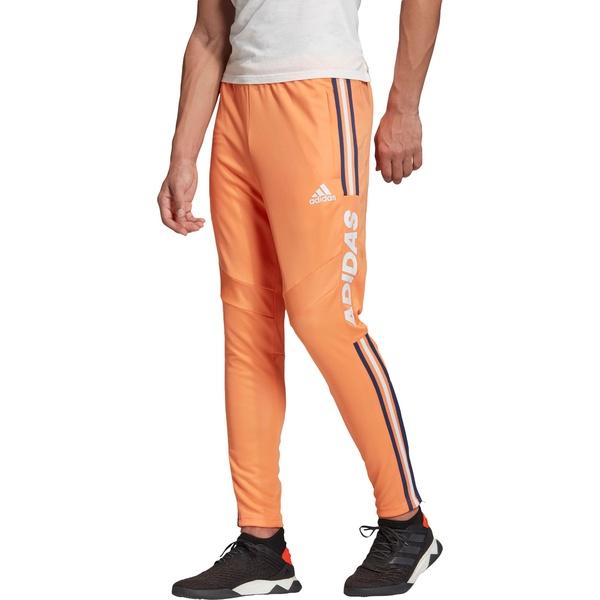 アディダス メンズ カジュアルパンツ ボトムス adidas Men's Tiro 19 Wordmark Training Pants AmberTint