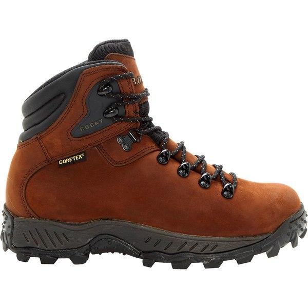 ロッキー メンズ ブーツ&レインブーツ シューズ Rocky Men's RidgeTop Mid GORE-TEX Hiking Boots Brown