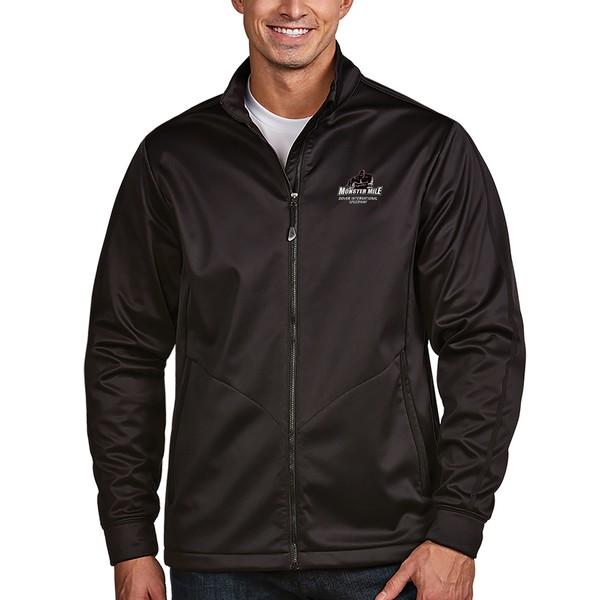 アンティグア メンズ ジャケット&ブルゾン アウター Dover International Speedway Antigua Monster Golf Full Zip Jacket Black