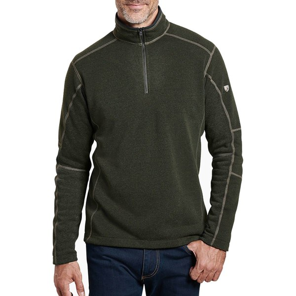 キュール メンズ ジャケット&ブルゾン アウター Revel 1/4-Zip Sweater - Men's Loden